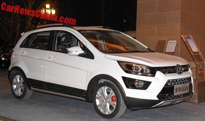 This is the Beijing Auto Senova EX200 EV for China
