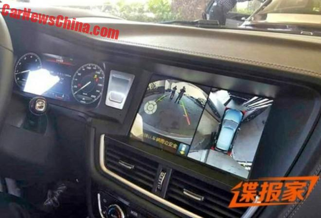 Spy Shots: Zotye T600 goes completely LCD in China