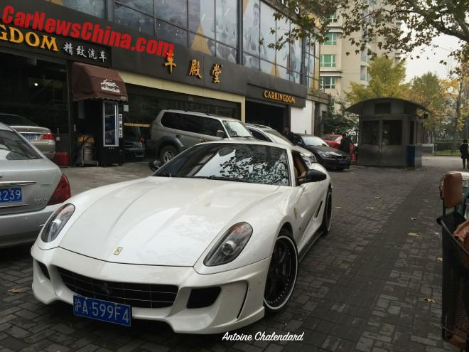 Spotted in China: Vorsteiner Ferrari 599-VX