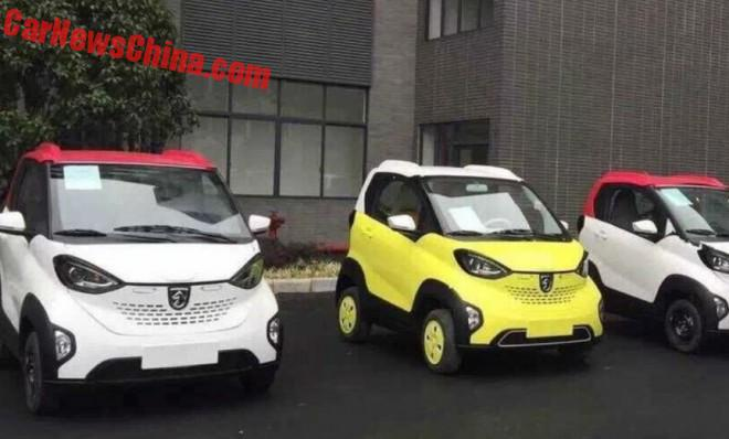 Spy Shots: Baojun E100 city EV is Ready for China