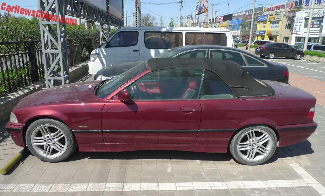 Bmw E36 328i Cabrio Is Dark Red In China Carnewschina Com