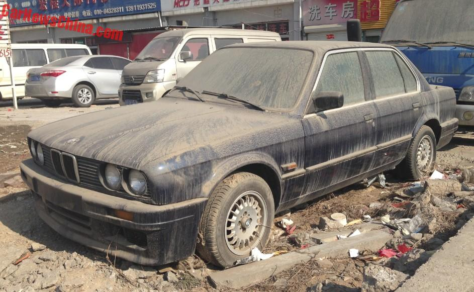 Spotted In China E30 Bmw 3 Series Times Two Carnewschina Com