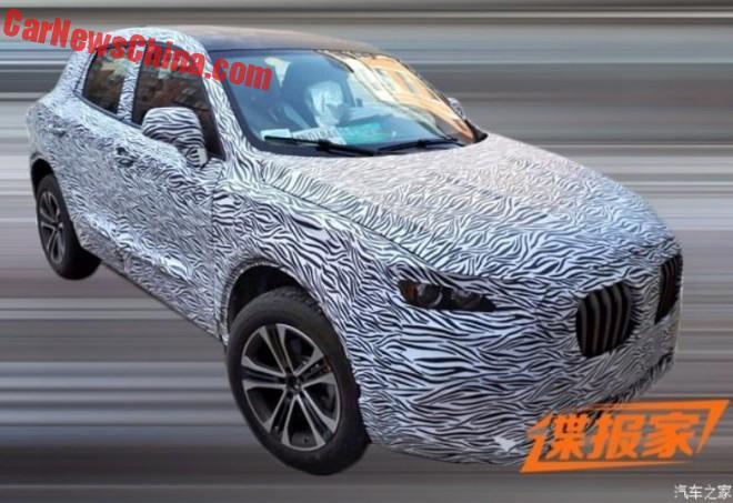 Spy Shots: Borgward BX5 SUV testing in China