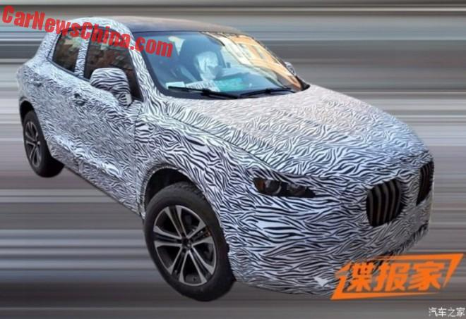 Spy Shots: Borgward BX5 SUV testing in China