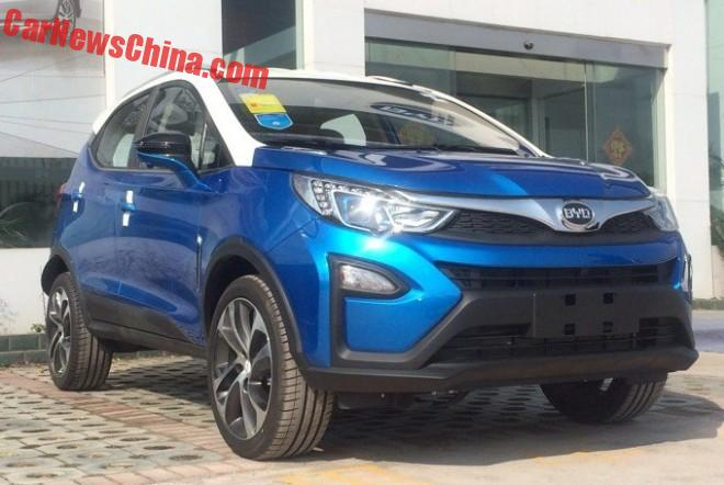 BYD Yuan arrives at the Dealer in China