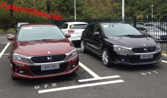 Spy Shots: Citroen DS 4S from all Sides in China