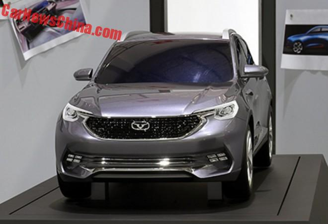 Cowin X5 SUV will launch in China in 2018