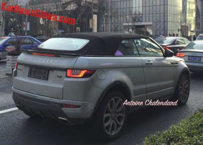 Spy Shots: Range Rover Evoque Convertible arrives in Shanghai
