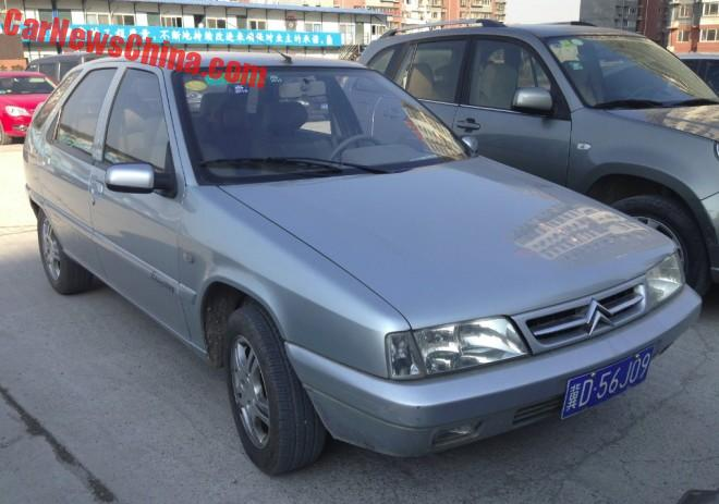 Spotted in China: the Citroen Fukang 2008