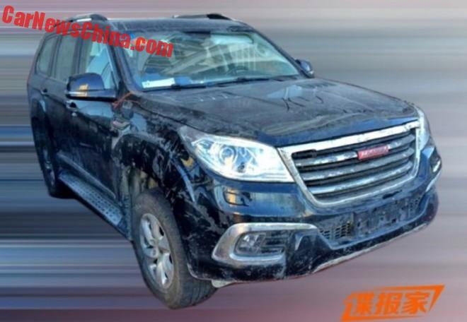 Twin-turbo V6 for the Haval H9 in China