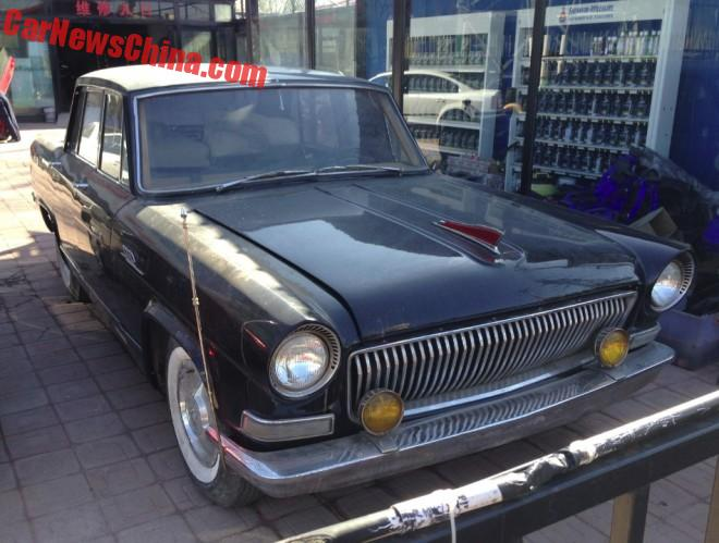 Spotted in China: Hongqi CA771 sedan
