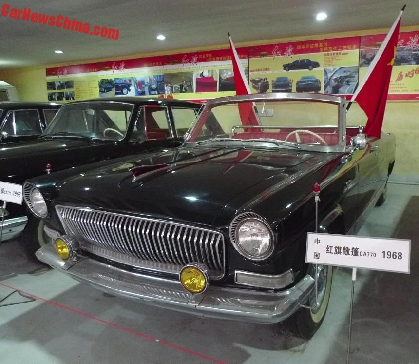 The Hongqi Limousines At The Former Dalian Classic Car