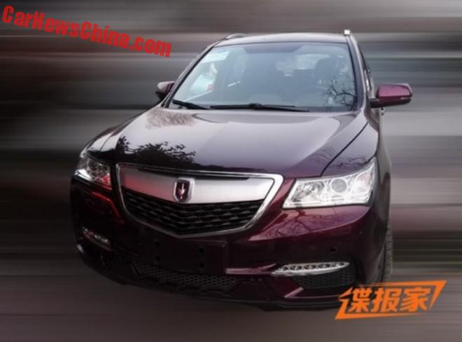 China's Jinbei Automotive clones the Acura MDX
