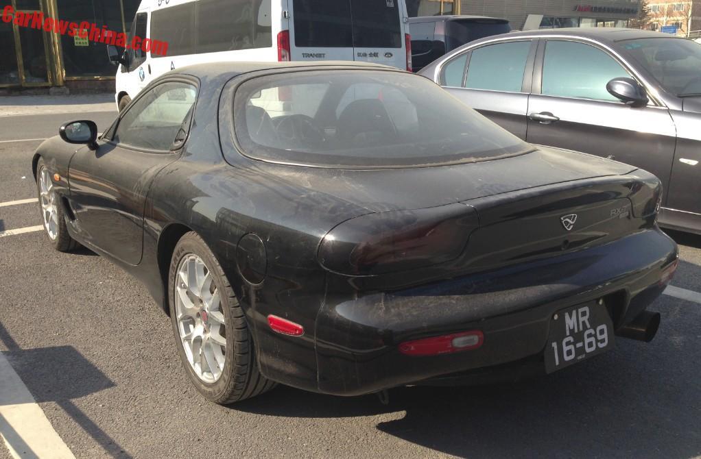 Spotted in China: Mazda ɛ̃fini RX-7 - CarNewsChina.com