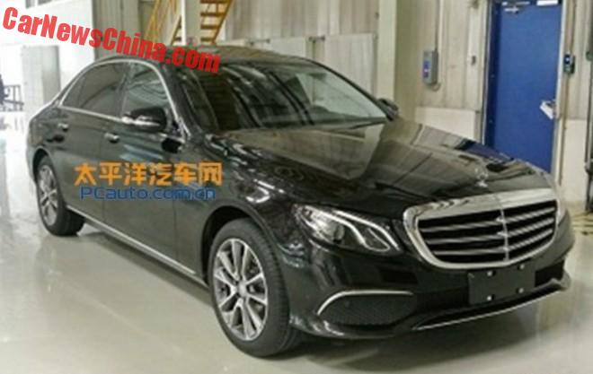This is the 2017 Mercedes-Benz E-Class L for China