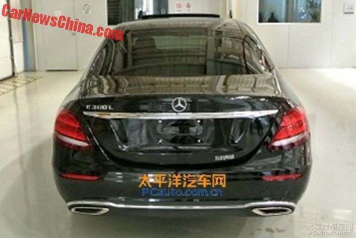 This is the 2017 Mercedes-Benz E-Class L for China - CarNewsChina.com
