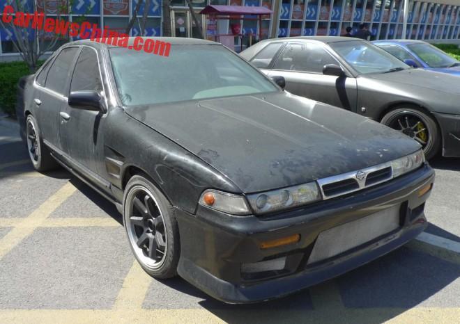 Nissan Laurel Altima 2.4 GTS-R is a black Drift Car in China