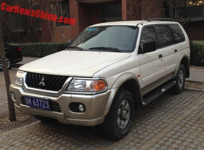 Spotted in China: Beijing-Jeep Mitsubishi Pajero Sport