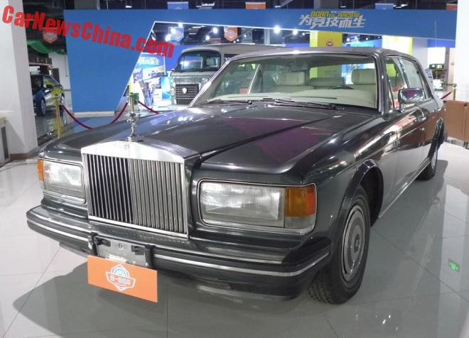 Spotted in China: Rolls-Royce Silver Spur Mark 1