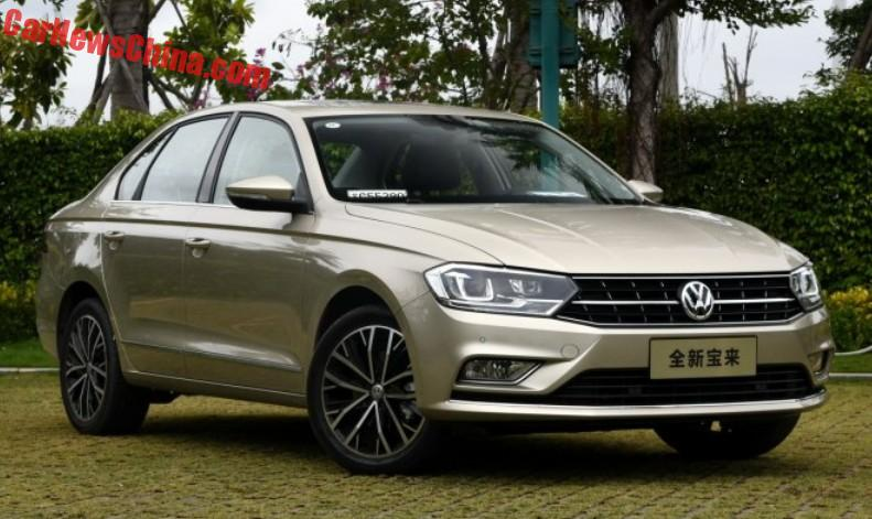 Facelifted Volkswagen Bora To Launch In China March