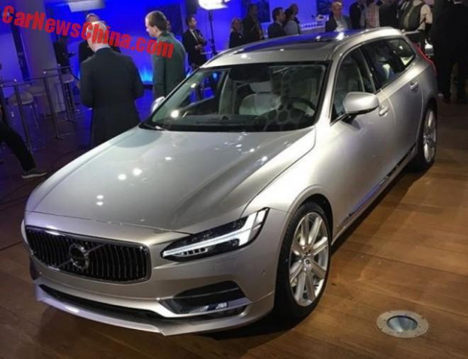 Volvo V90 Unveiled in Sweden