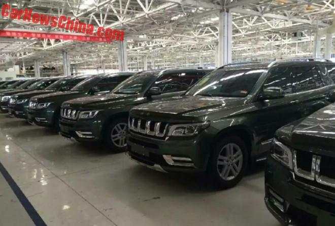 The Beijing Auto BJ90 SUV is Ready for the Chinese car market