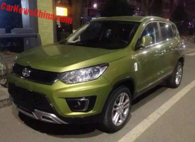 Spy Shots: Beijing Auto Senova X35 is Naked in China
