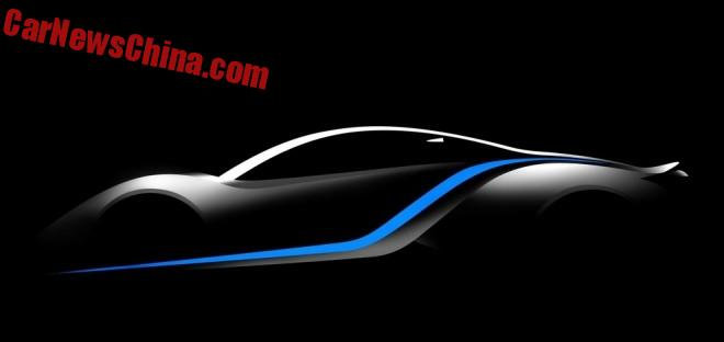 Beijing Auto previews new Electric Supercar