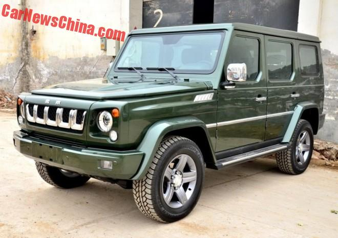 Beijing Auto BJ80C is Ready for the Chinese car market