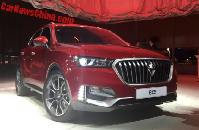 Borgward BX5 debuts in Geneva for China