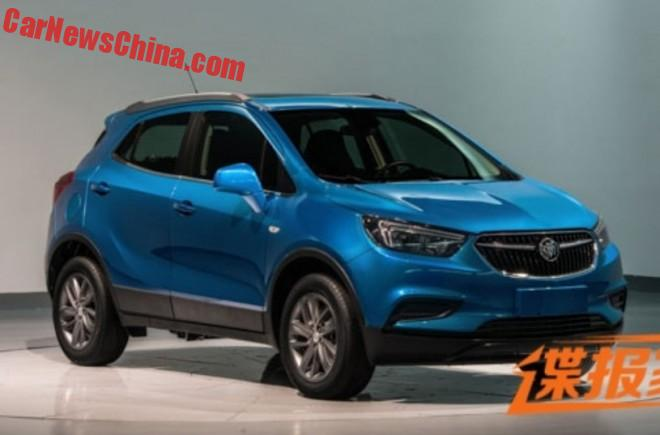 Spy Shots: facelift for the Buick Encore in China