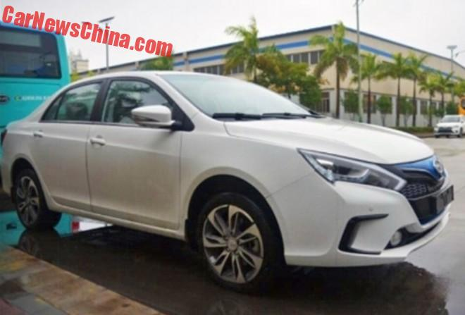 BYD Qin EV300 is Ready for the Chinese car market