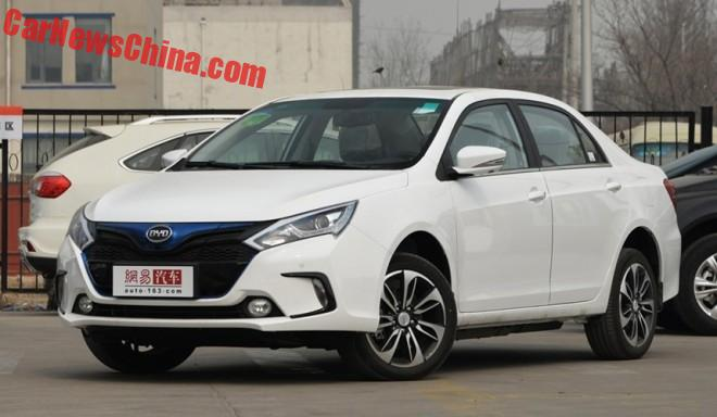 This is the new BYD EV300 for China