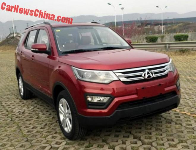 Changan CX70 SUV is Ready for the Chinese car market