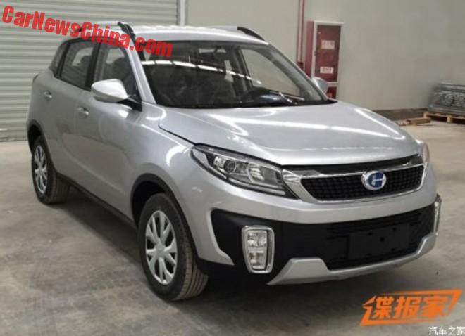 Spy Shots: Changhe Q35 SUV is Ready for China