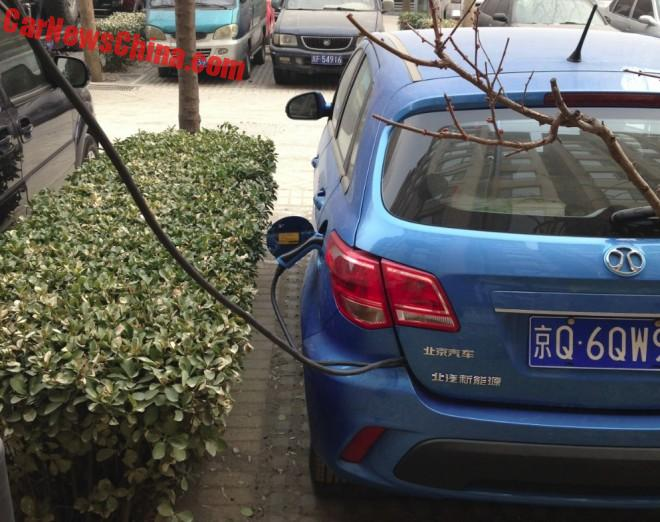 Charging the EV in China, the Chinese way