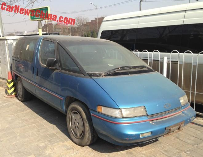 Spotted in China: Chevrolet Lumina APV