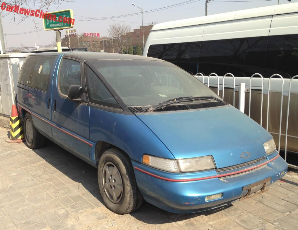 Spotted In China Chevrolet Lumina Apv Carnewschina Com