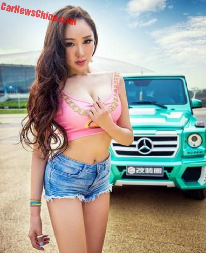 china-car-girl-g-class-7