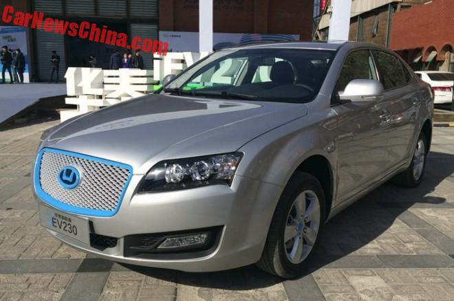 Hawtai Auto iEV230 hits the Chinese auto market