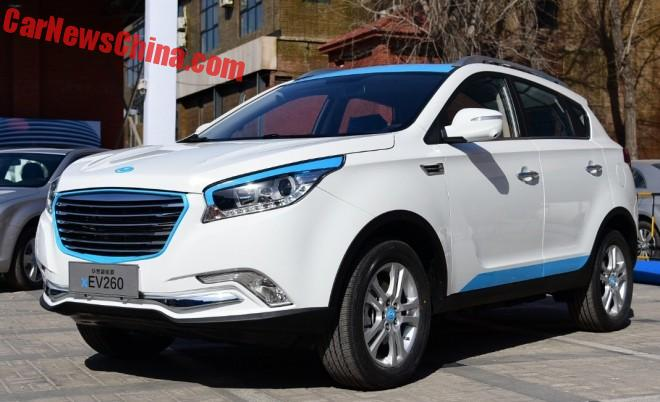 Hawtai Auto xEV260 electric SUV to launch in China in April