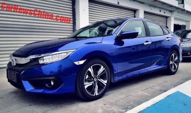 New Honda Civic is Ready for the Chinese car market
