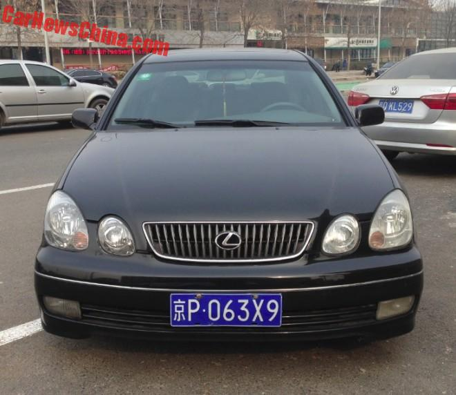Spotted in China: second generation generation Lexus GS300