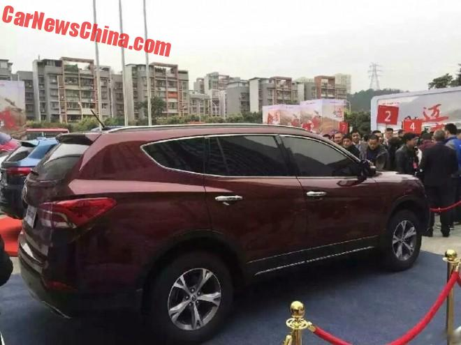New Spy Shots of the Lifan X80 SUV for China