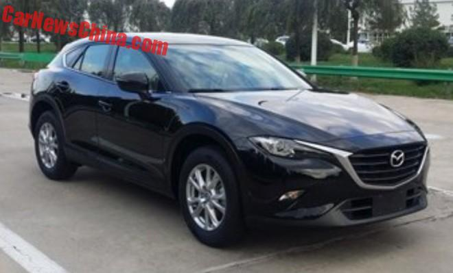 Spy Shots: Mazda CX4 is Naked in China