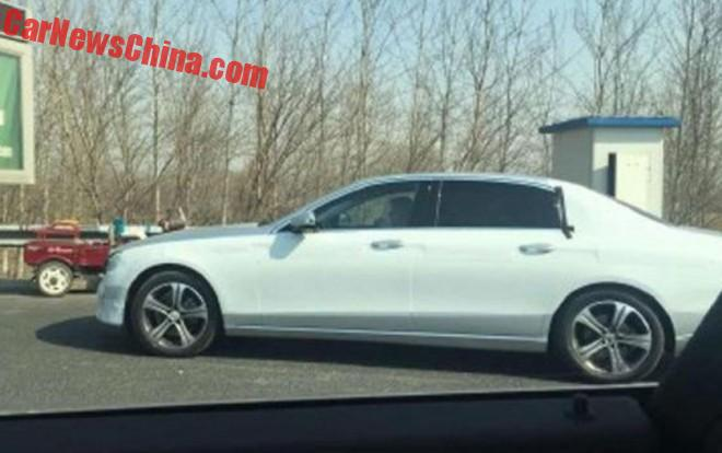Spy Shots: Mercedes-Benz E-Class Maybach is Almost Naked in China