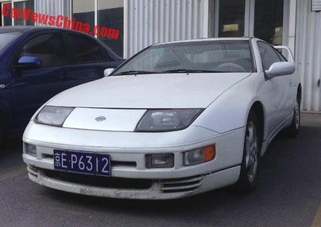 Nissan 300ZX is a 1990's Japanese sportscar in China