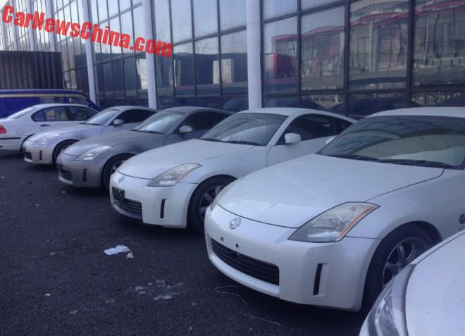 Spotted in China: Nissan Fairlady Z times Four