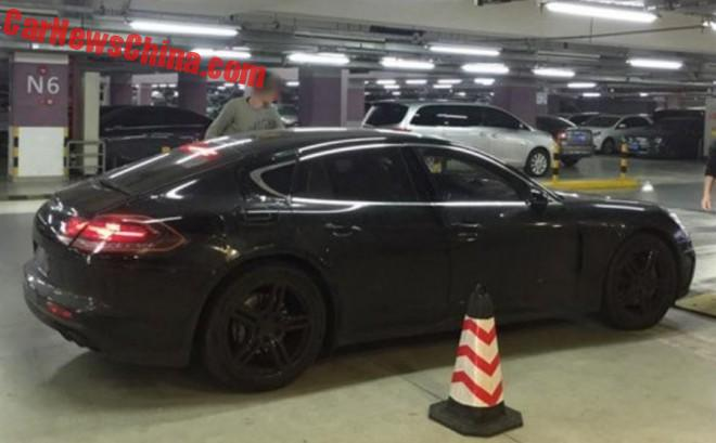 Spy Shots: 2017 Porsche Panamera is Almost Naked in China