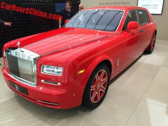 Rolls-Royce Phantom Louis XIII Special Edition debuts in Geneva